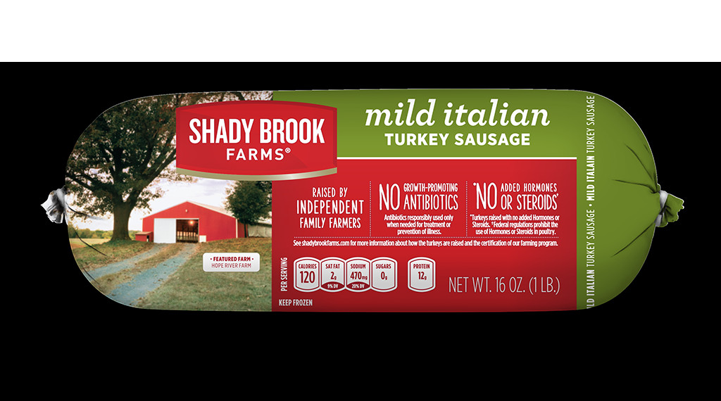Ground Turkey Sausage  Frozen Mild Italian Ground Turkey Sausage Roll Shady