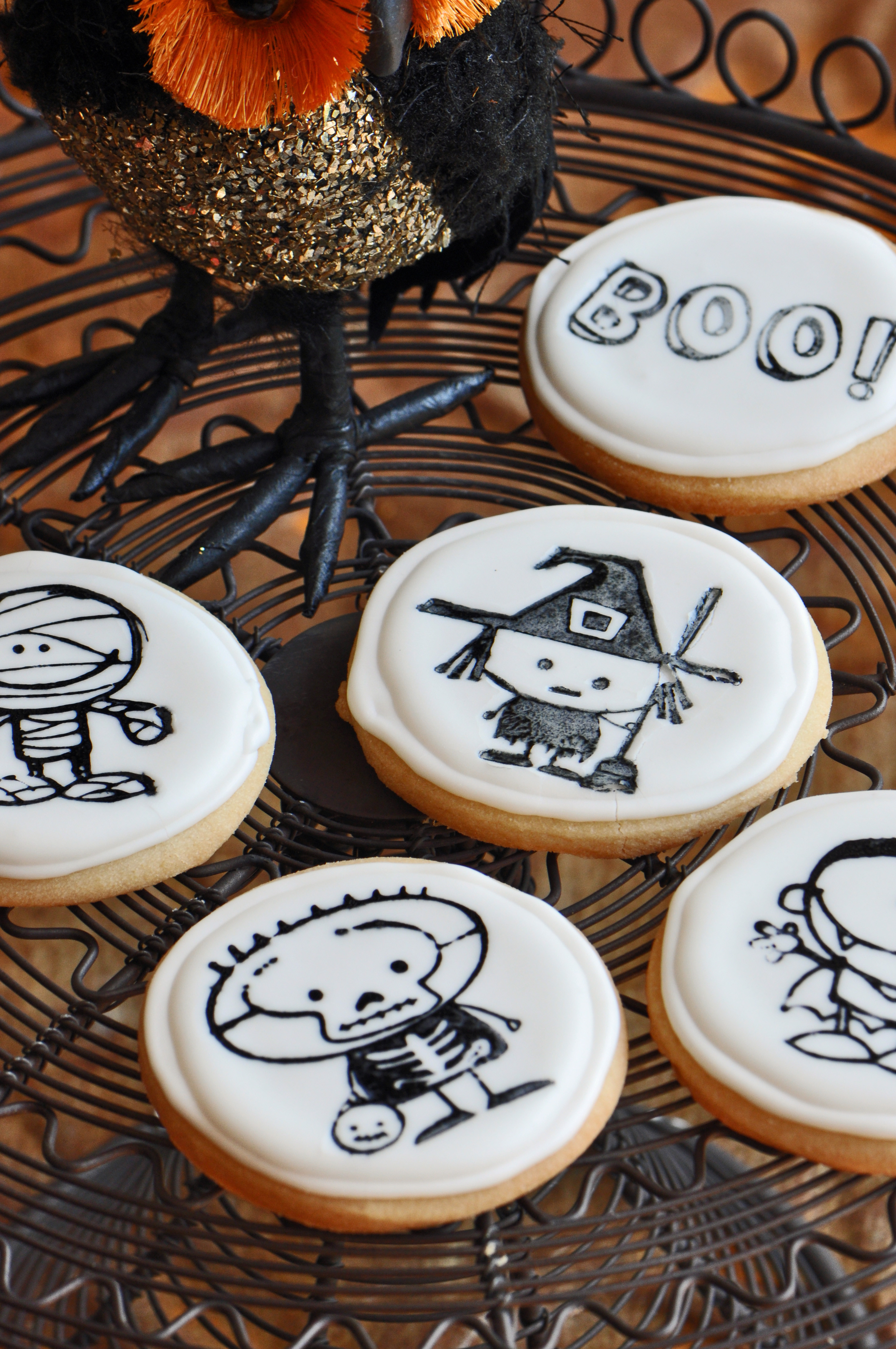 Halloween Sugar Cookies  Halloween Cookie Recipe No Trick All Treat