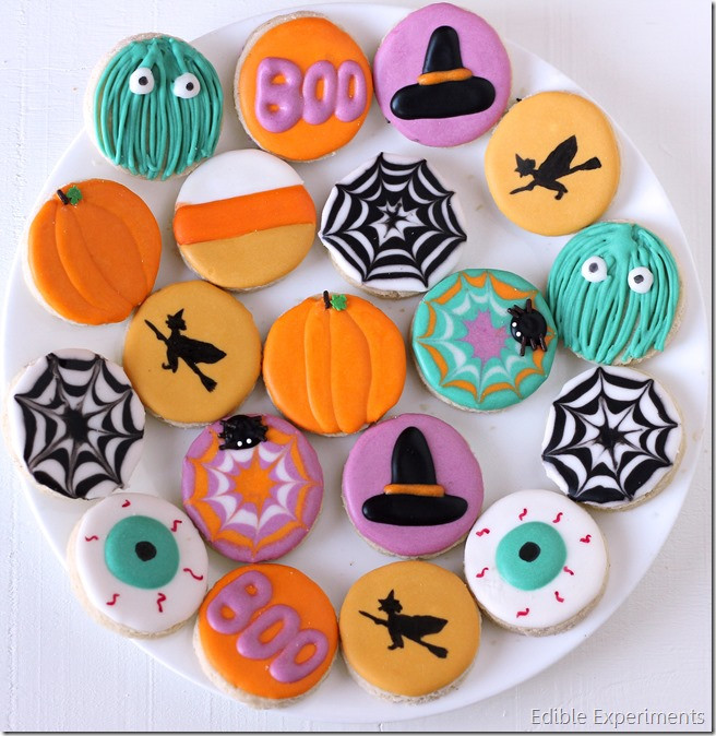 Halloween Sugar Cookies  Cute Halloween Sugar Cookies