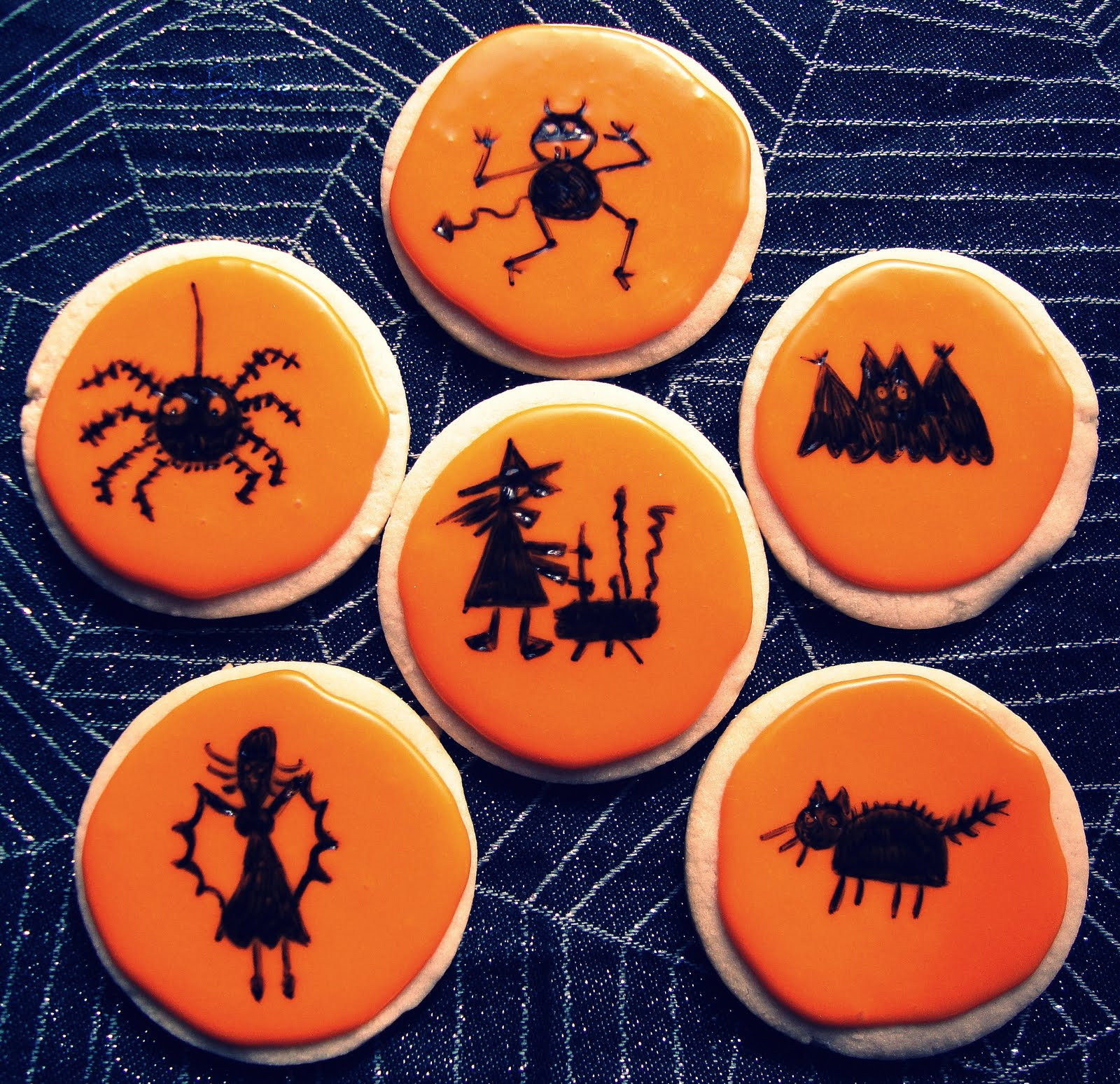 Halloween Sugar Cookies  Indecisive Baker Halloween Sugar Cookies