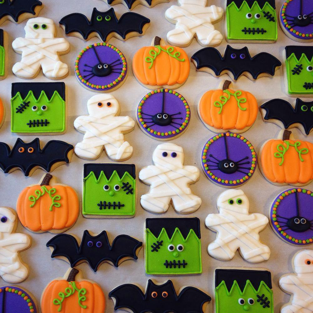 Halloween Sugar Cookies  Halloween Sugar Cookies Party XYZ