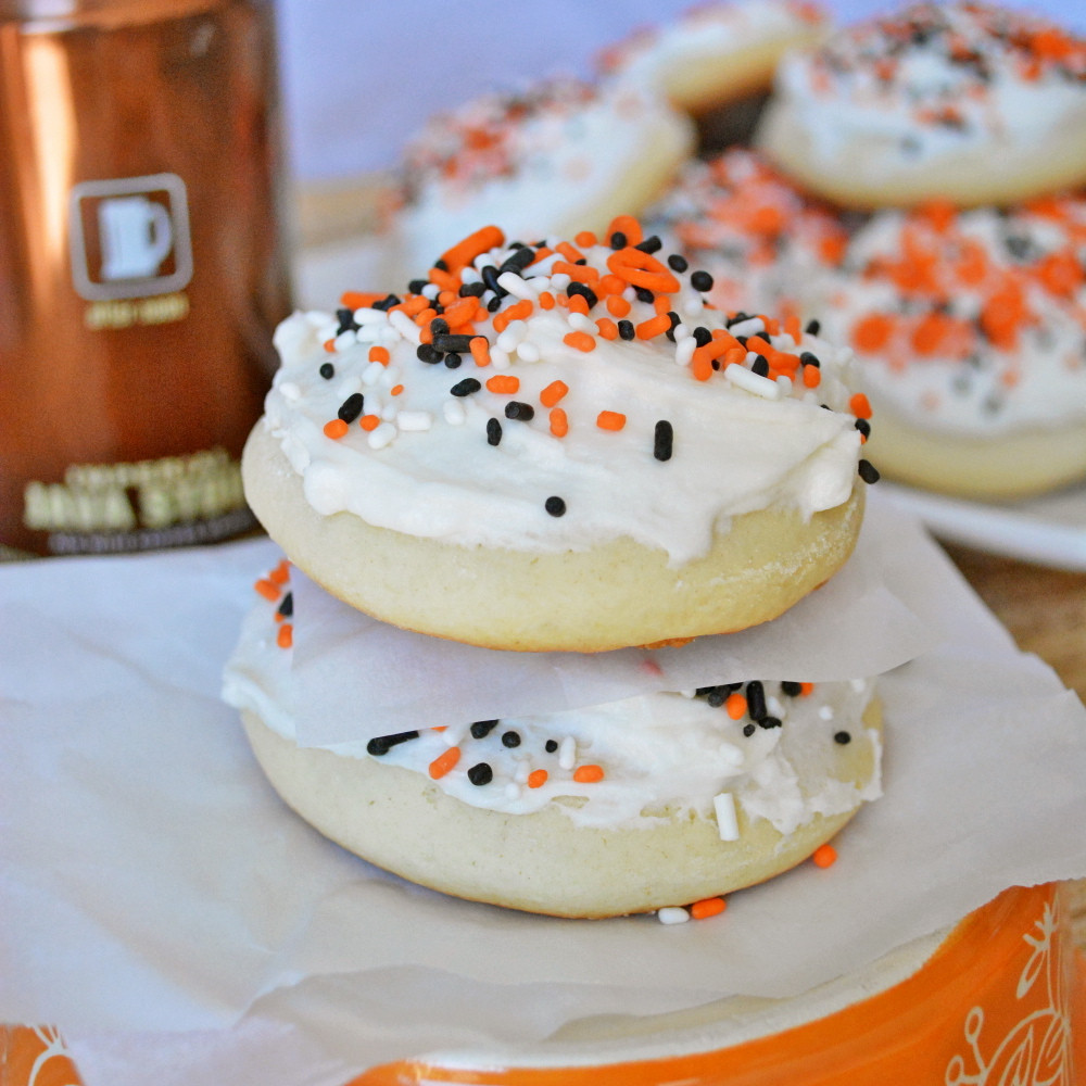 Halloween Sugar Cookies  Lofthouse Style Soft Sugar Cookies