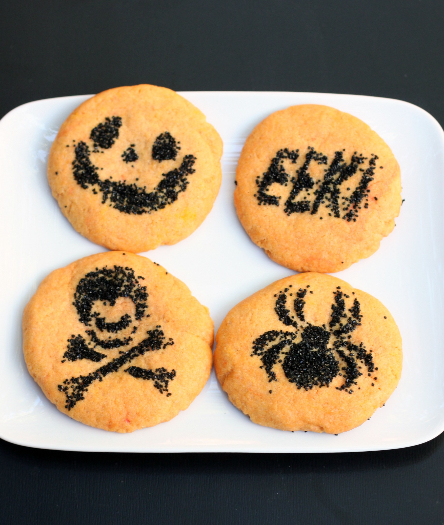 Halloween Sugar Cookies  Simple Halloween Sugar Cookies