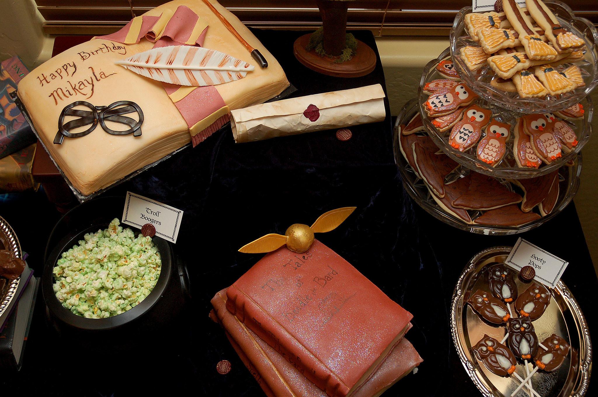 Harry Potter Desserts  Harry Potter Dessert Table