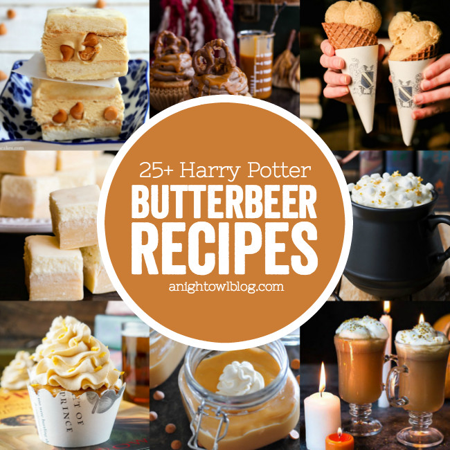 Harry Potter Desserts  25 Harry Potter Butterbeer Recipes