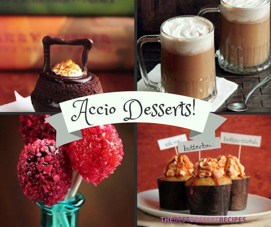 Harry Potter Desserts  Accio Desserts 10 Magical Harry Potter Recipes