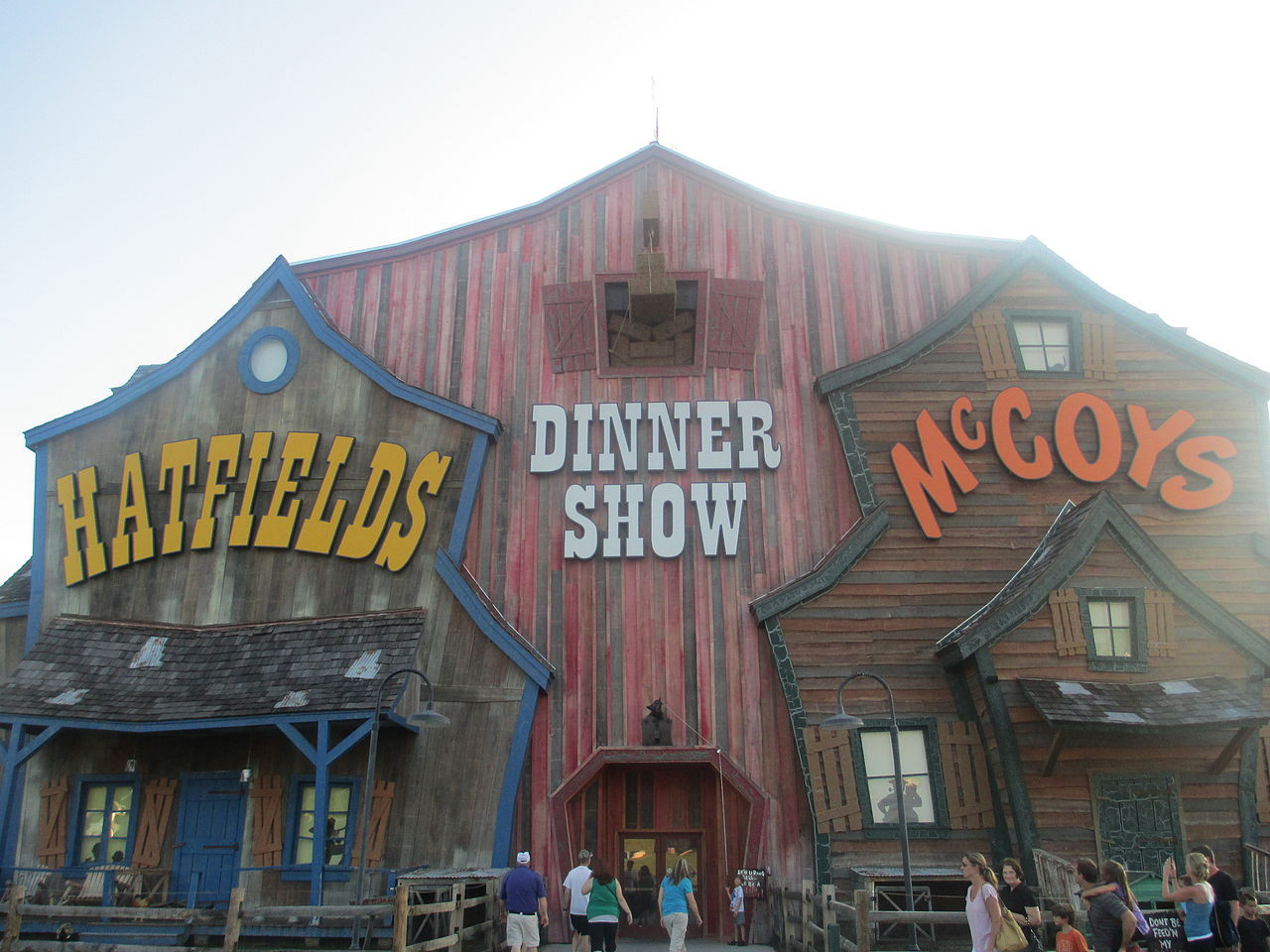 Hatfield Mccoy Dinner Show  File Hatfield & McCoy Dinner Show Pigeon Forge TN IMG