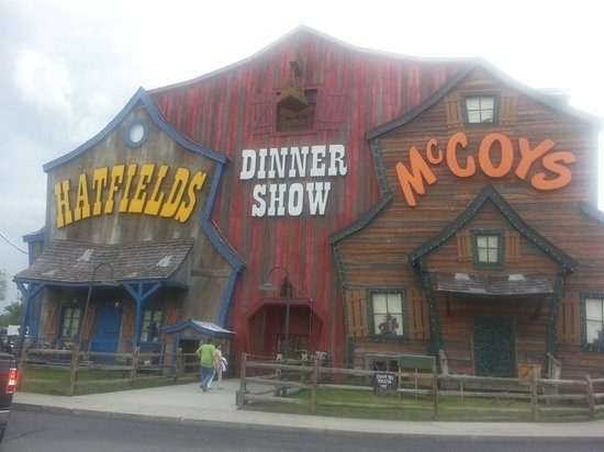 Hatfield Mccoy Dinner Show  Pa Hatfield & Ma McCoy Picture of Hatfield & McCoy