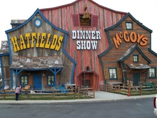 Hatfield Mccoy Dinner Show  Hatfield & McCoys Picture of Hatfield & McCoy Dinner