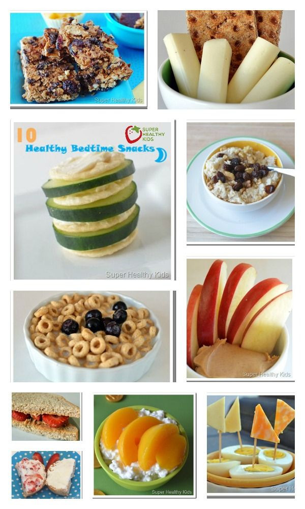 Healthy Bedtime Snacks  Pin by Super Healthy Kids on Best of Super Healthy Kids