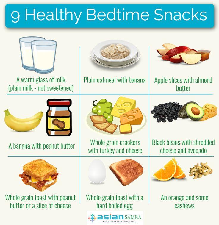Healthy Bedtime Snacks  Best 25 Healthy bedtime snacks ideas on Pinterest