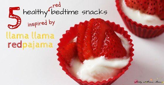Healthy Bedtime Snacks  Kids Kitchen 5 Bedtime Snacks ⋆ Sugar Spice and Glitter