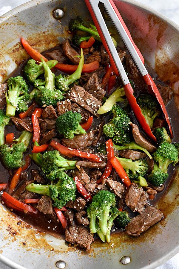 Healthy Beef And Broccoli  healthy beef and broccoli recipe
