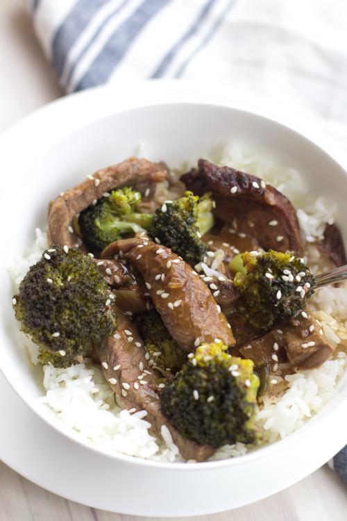 Healthy Beef And Broccoli  Healthy Crockpot Beef and Broccoli – New Leaf Wellness