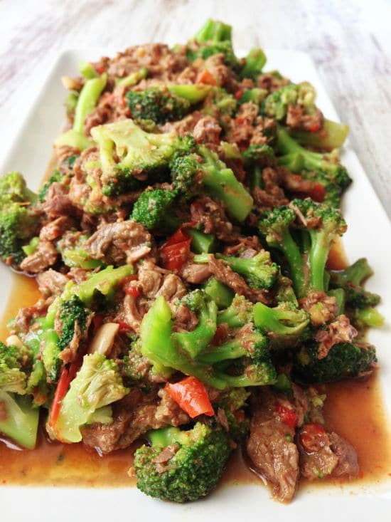 Healthy Beef And Broccoli  Healthy Slow Cooker Recipes