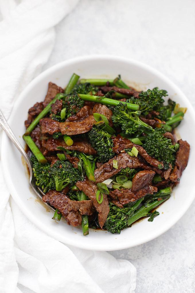 Healthy Beef And Broccoli  Healthy Beef and Broccoli e Lovely Life