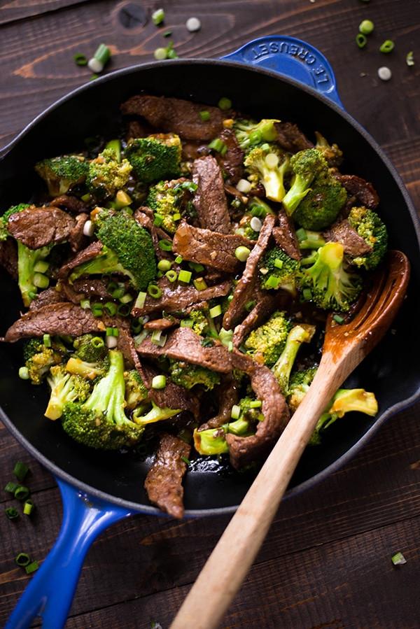 Healthy Beef And Broccoli  Healthy Beef and Broccoli Recipe • A Sweet Pea Chef