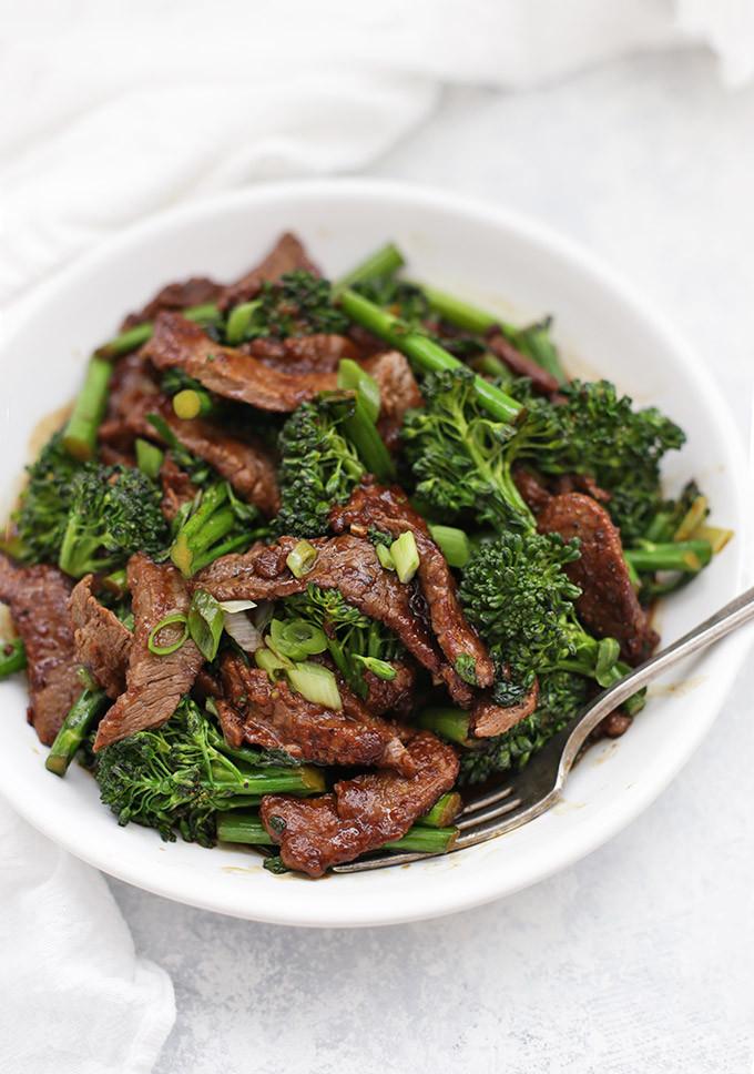Healthy Beef And Broccoli  healthy beef broccoli stir fry