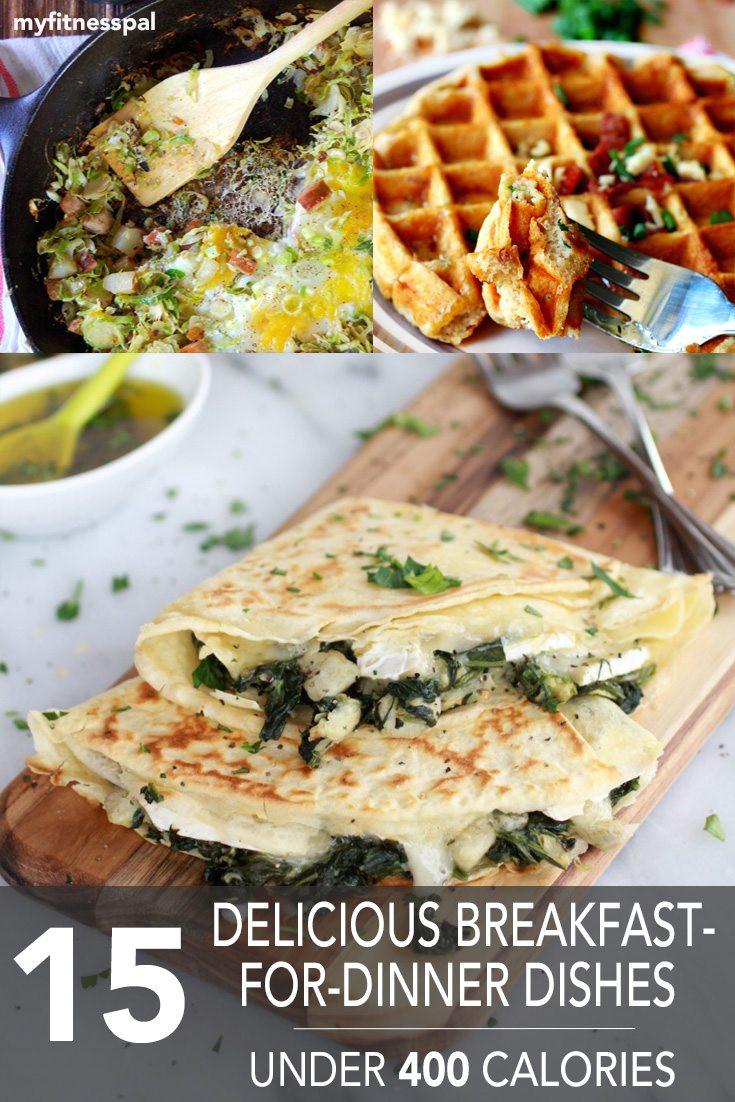 Healthy Breakfast For Dinner  15 Delicious Breakfast For Dinner Dishes Under 400