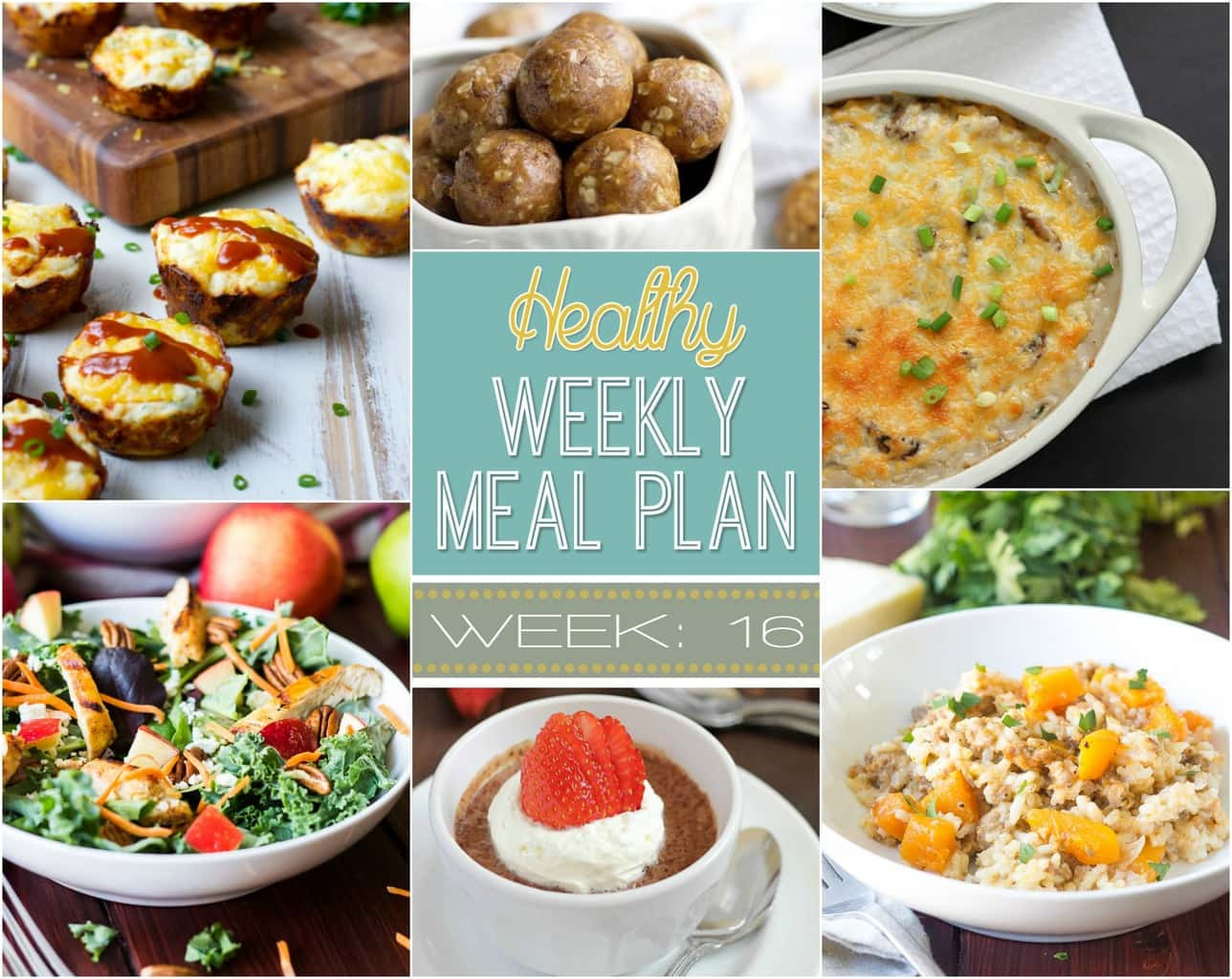 Healthy Breakfast For Dinner  Healthy Weekly Meal Plan 16 Yummy Healthy Easy