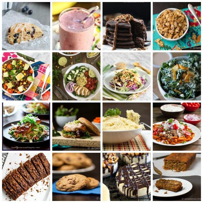 Healthy Breakfast For Dinner  90 Healthy Recipes for Breakfast Lunch Dinner & Dessert