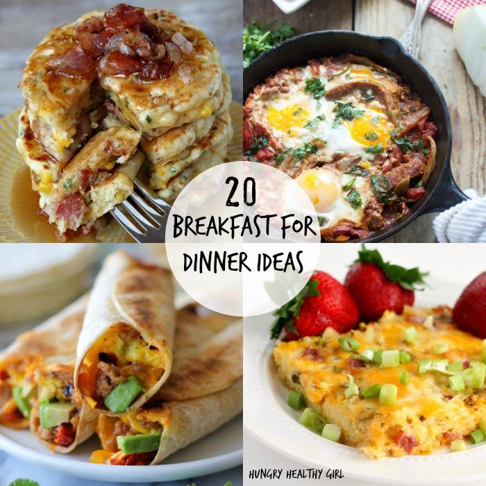 Healthy Breakfast For Dinner  Brinner A roundup of 20 Breakfast for Dinner Ideas Kim