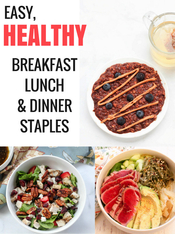 Healthy Breakfast For Dinner  Top 5 easy healthy meals for breakfast lunch and dinner