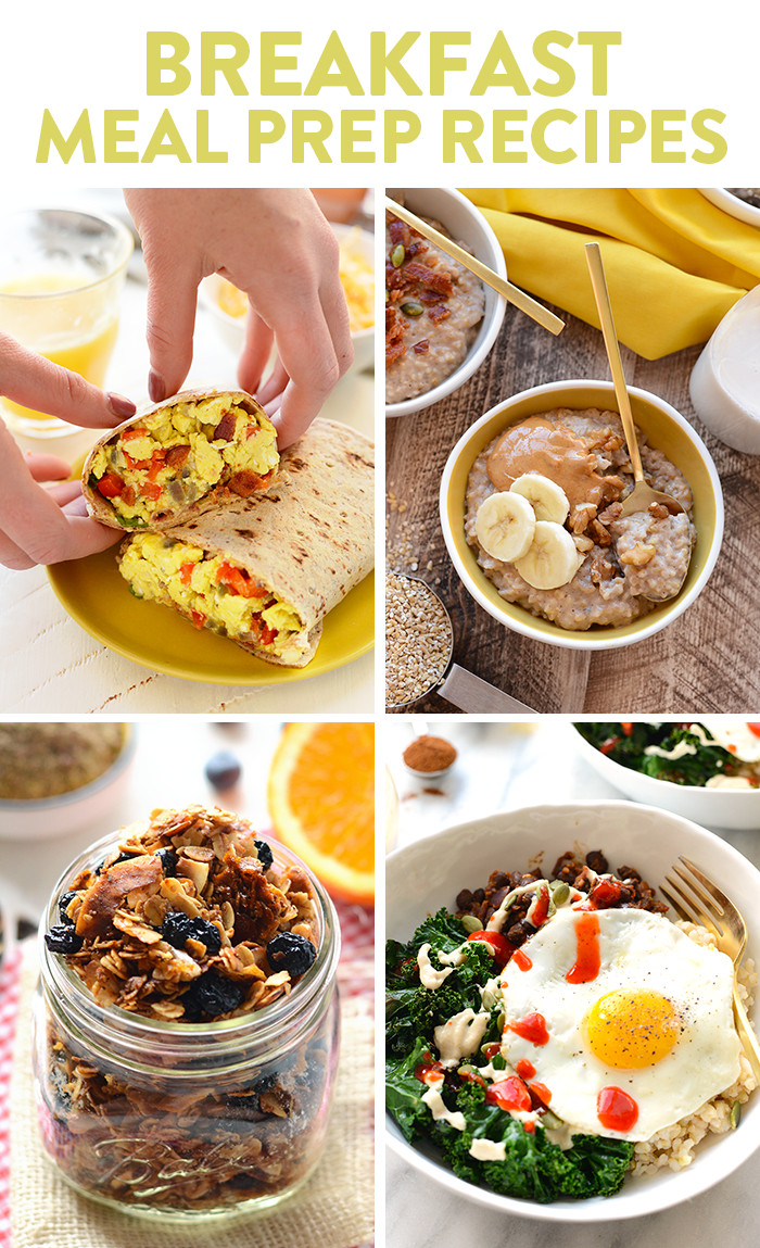 Healthy Breakfast For Dinner  Get inspired with these healthy meal prep recipes