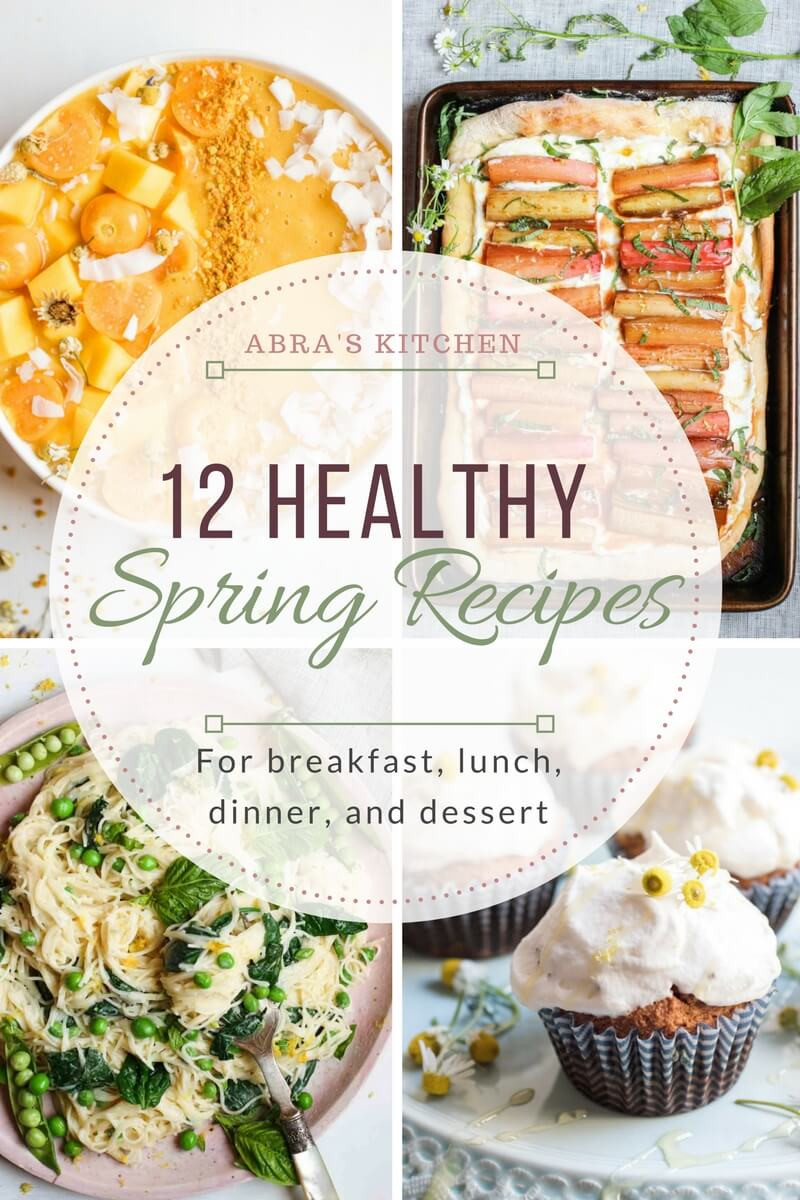 Healthy Breakfast For Dinner  12 Healthy Recipes to Make this Spring for Breakfast