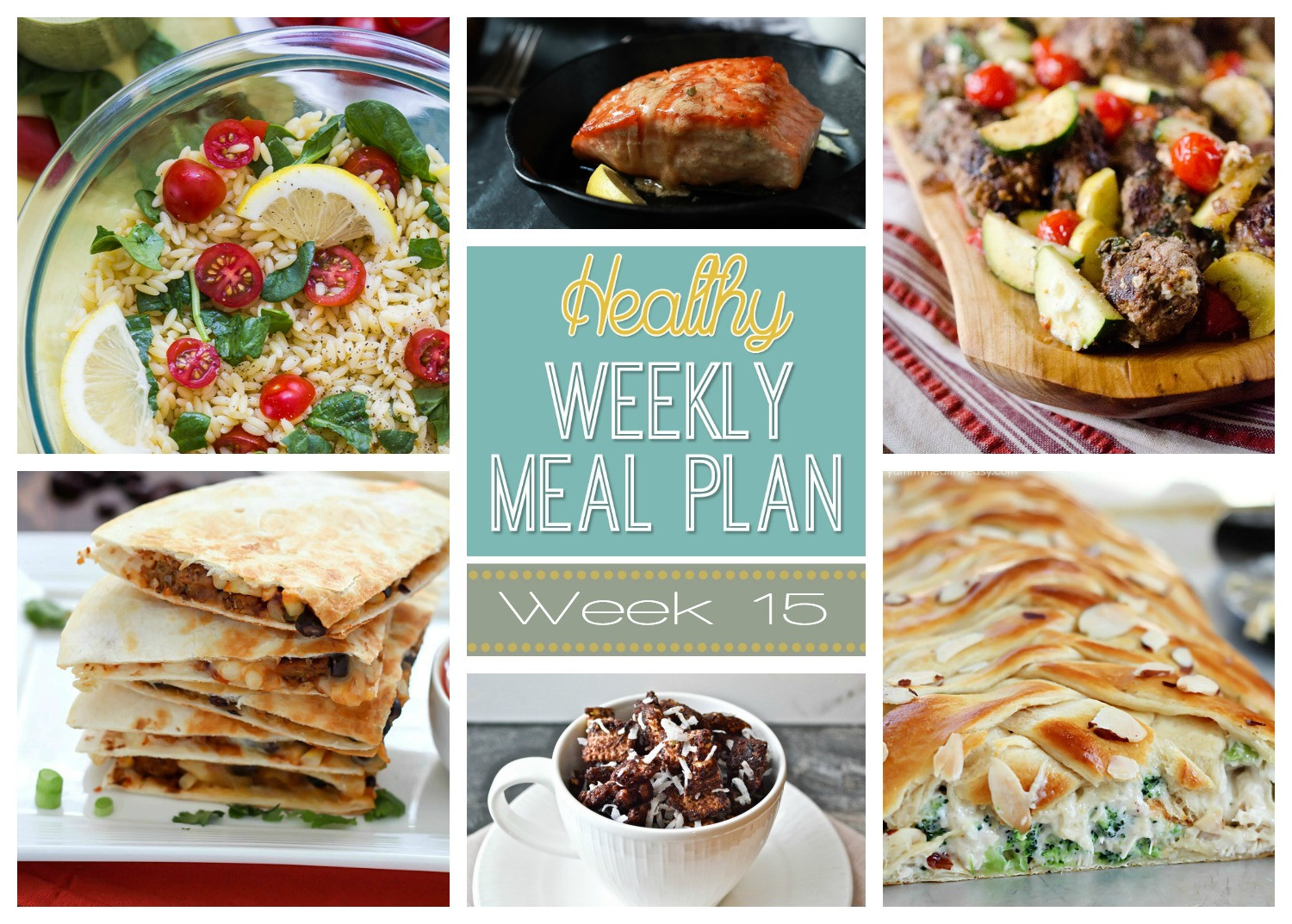 Healthy Breakfast For Dinner  Healthy Weekly Meal Plan 15 Yummy Healthy Easy
