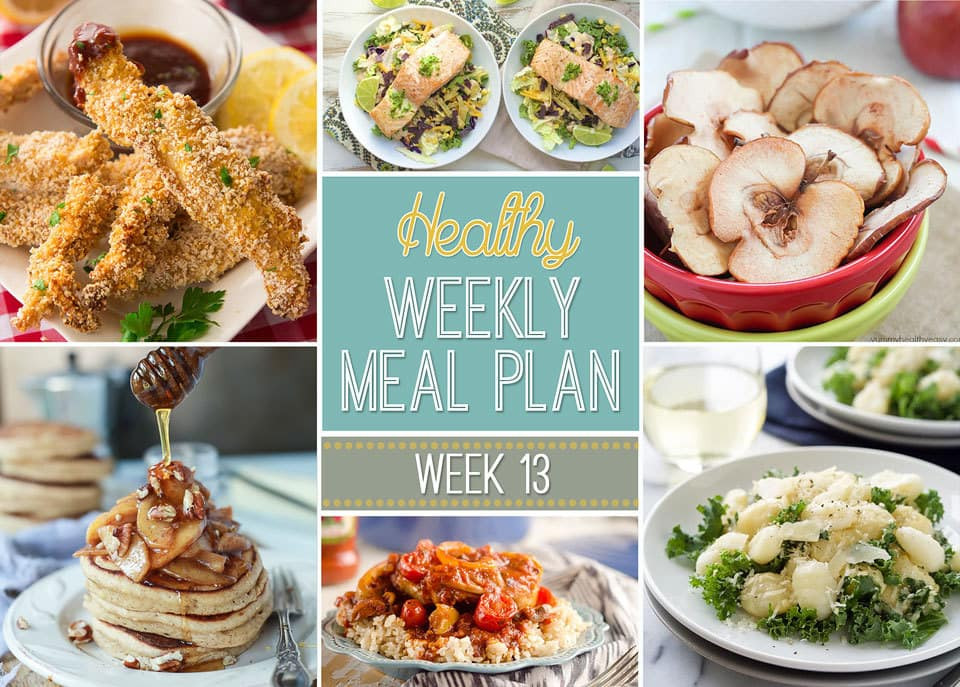 Healthy Breakfast For Dinner  Healthy Weekly Meal Plan 13 Yummy Healthy Easy