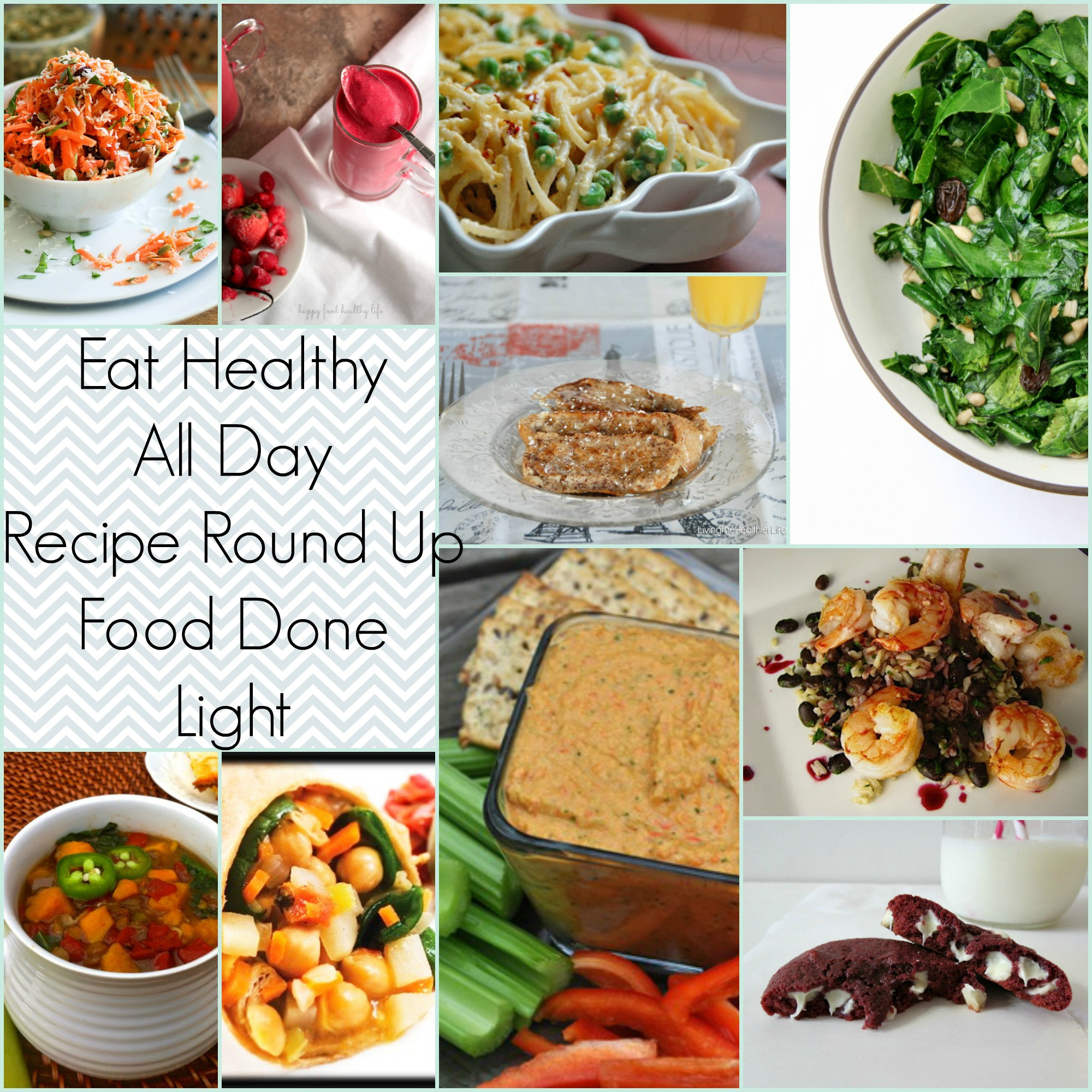 Healthy Breakfast For Dinner  Eat Healthy All Day Recipe Round Up