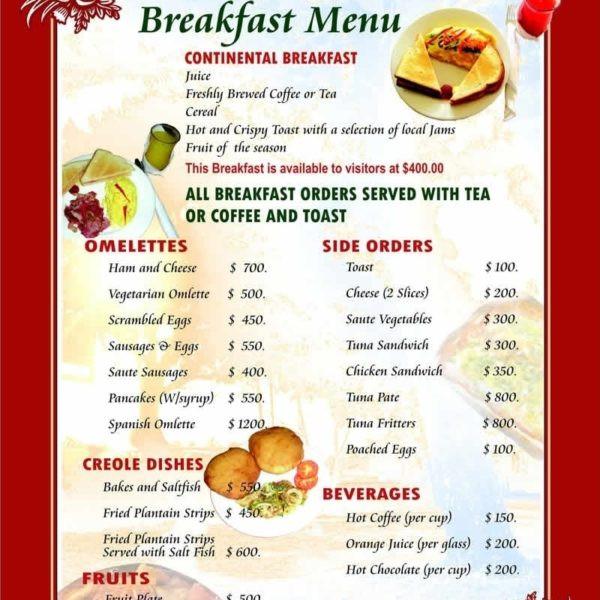 Healthy Breakfast Menu  Healthy Restaurant Menu Ideas – Liss Cardio Workout Within