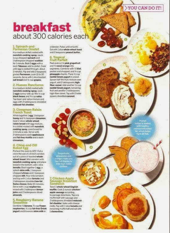 Healthy Breakfast Recipes For Weight Loss  Babe in Total Control of Herself Healthy Breakfast Ideas