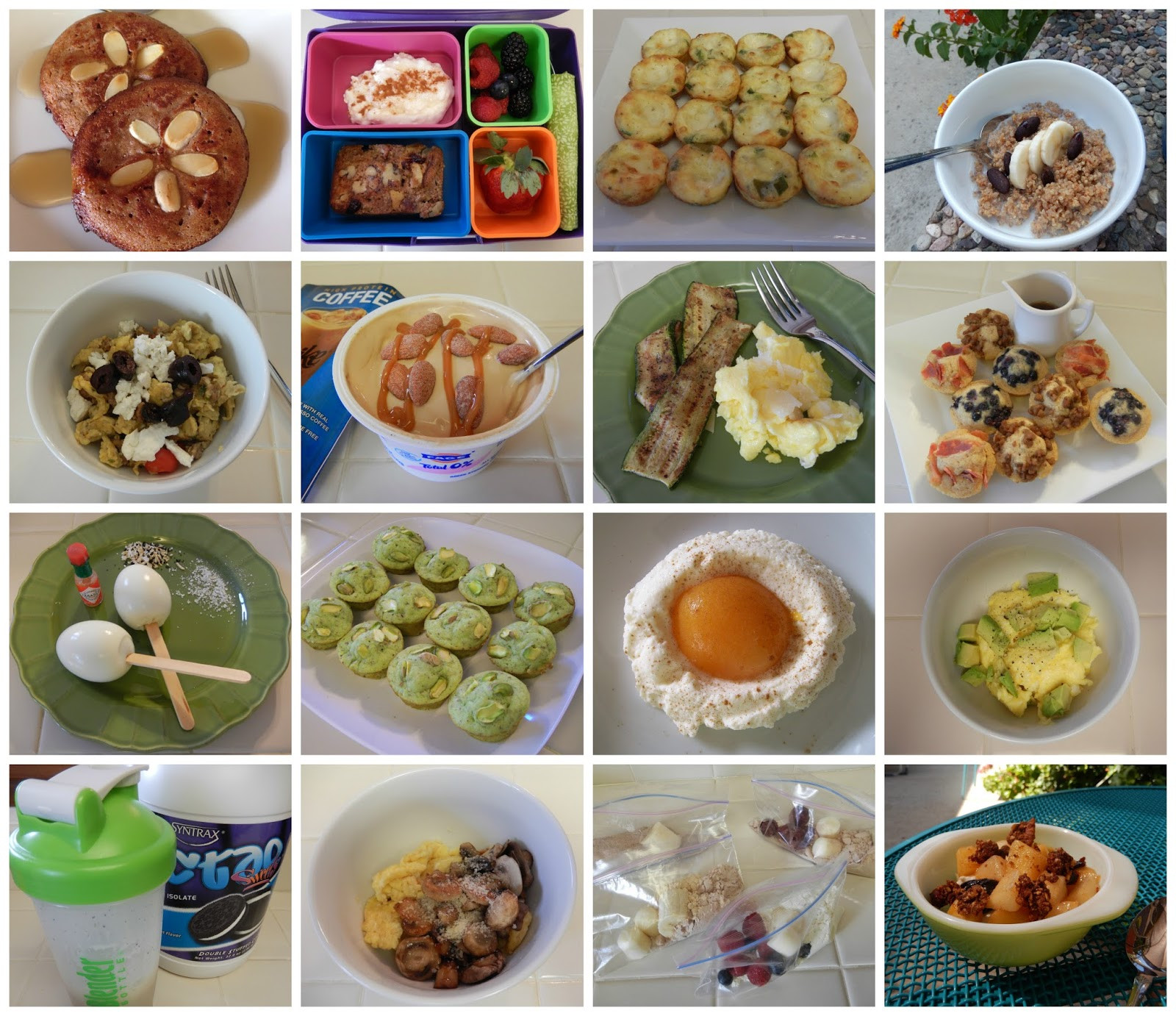 Healthy Breakfast Recipes For Weight Loss  theworldaccordingtoeggface Oodles of Healthy Breakfast Ideas