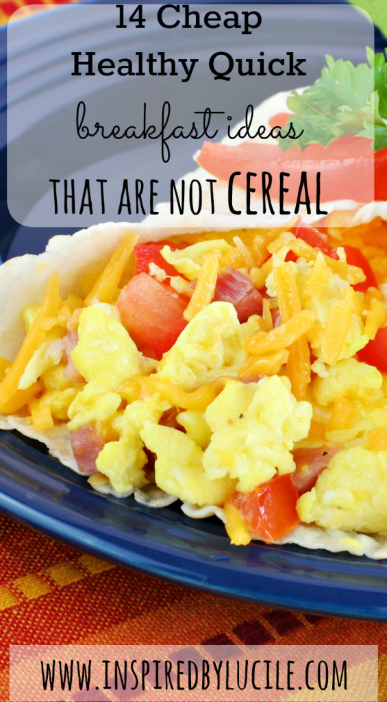 Healthy Cheap Breakfast  14 Cheap Healthy Quick Breakfast Ideas that Are not Cereal