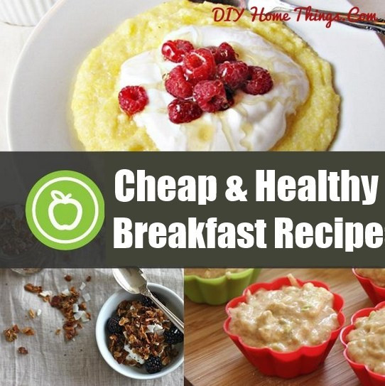 Healthy Cheap Breakfast  55 Cheap and Healthy Breakfast Recipes
