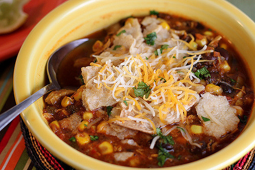 Healthy Chicken Tortilla Soup  Healthy Chicken Tortilla Soup Recipe Back to the Cutting