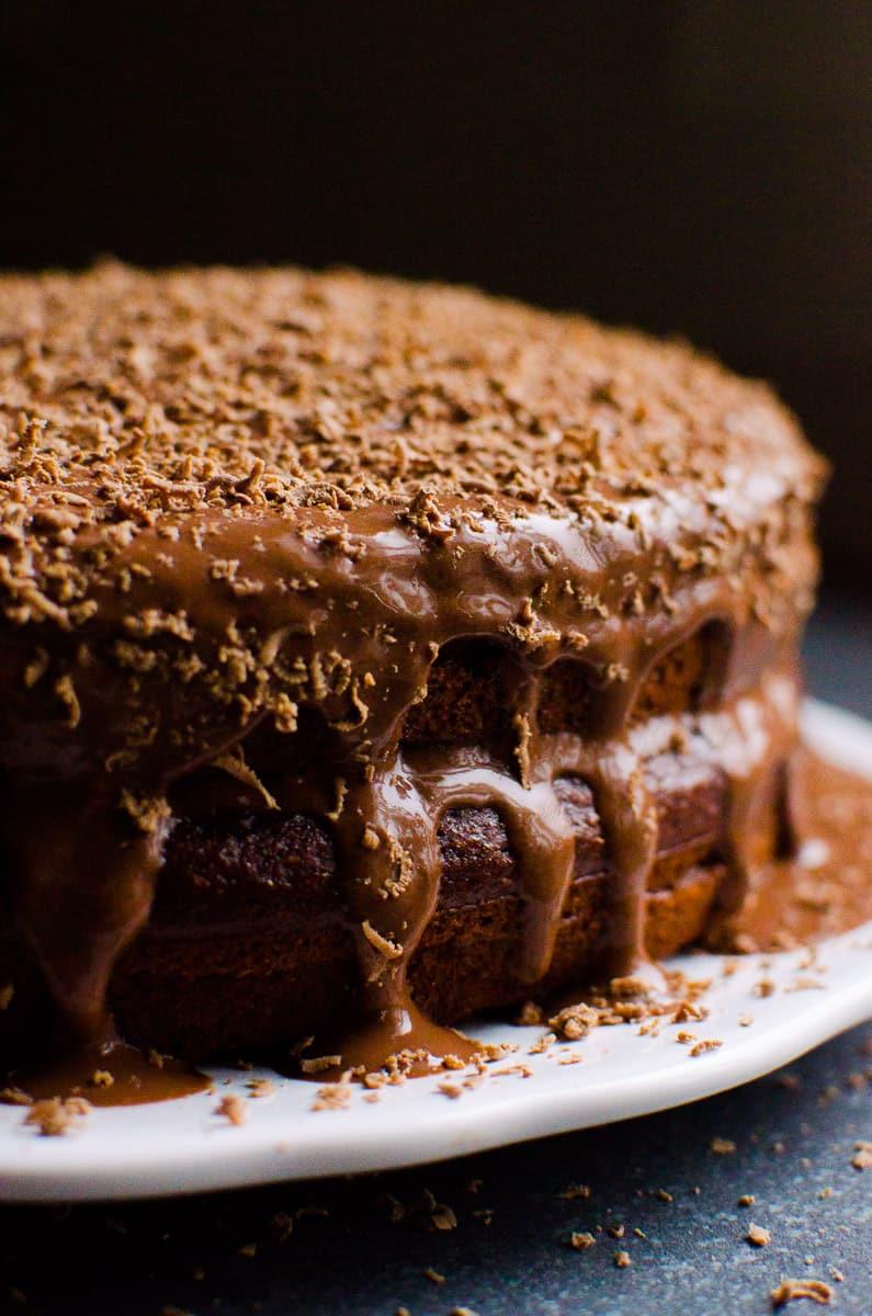 Healthy Chocolate Cake  Healthy Chocolate Cake iFOODreal Healthy Family Recipes