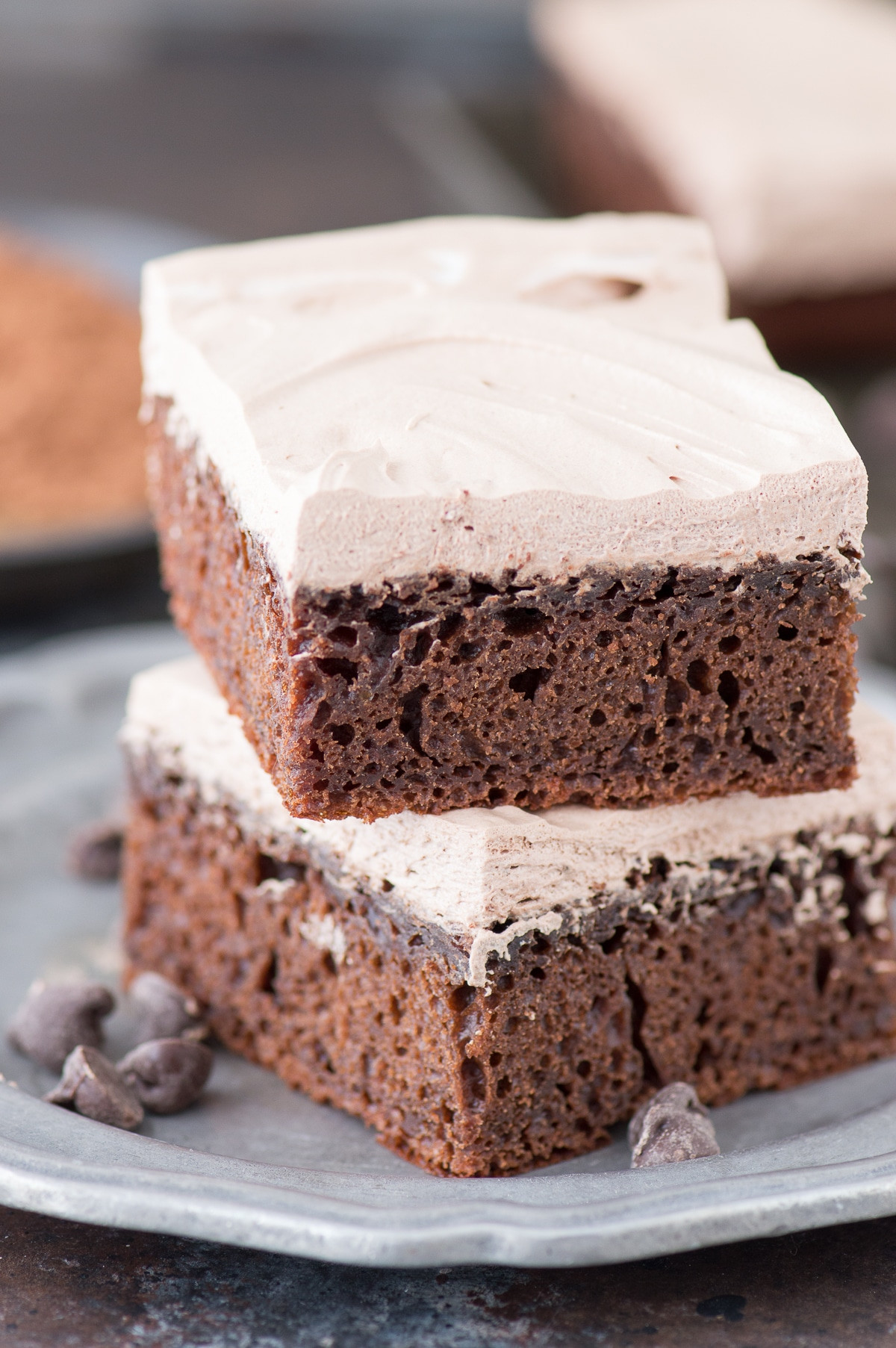 Healthy Chocolate Cake  Healthy Chocolate Fudge Cake