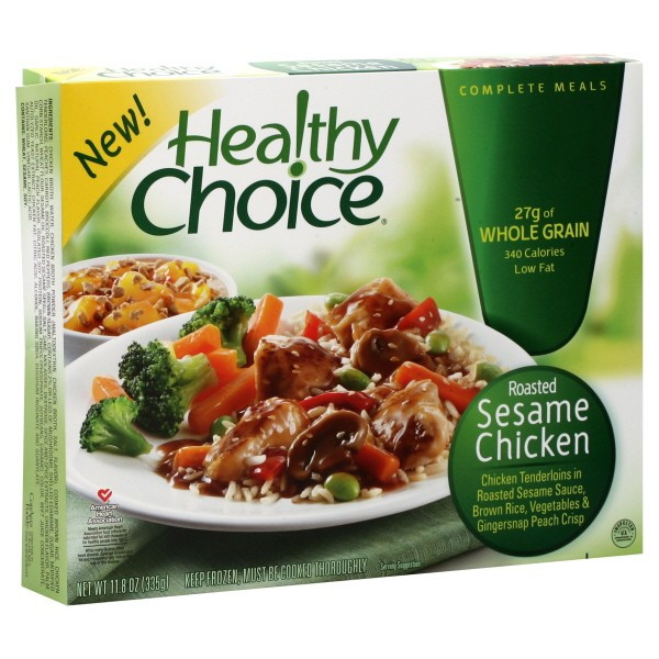 Healthy Choice Dinners  Healthy Choice plete Meals Roasted Sesame Chicken
