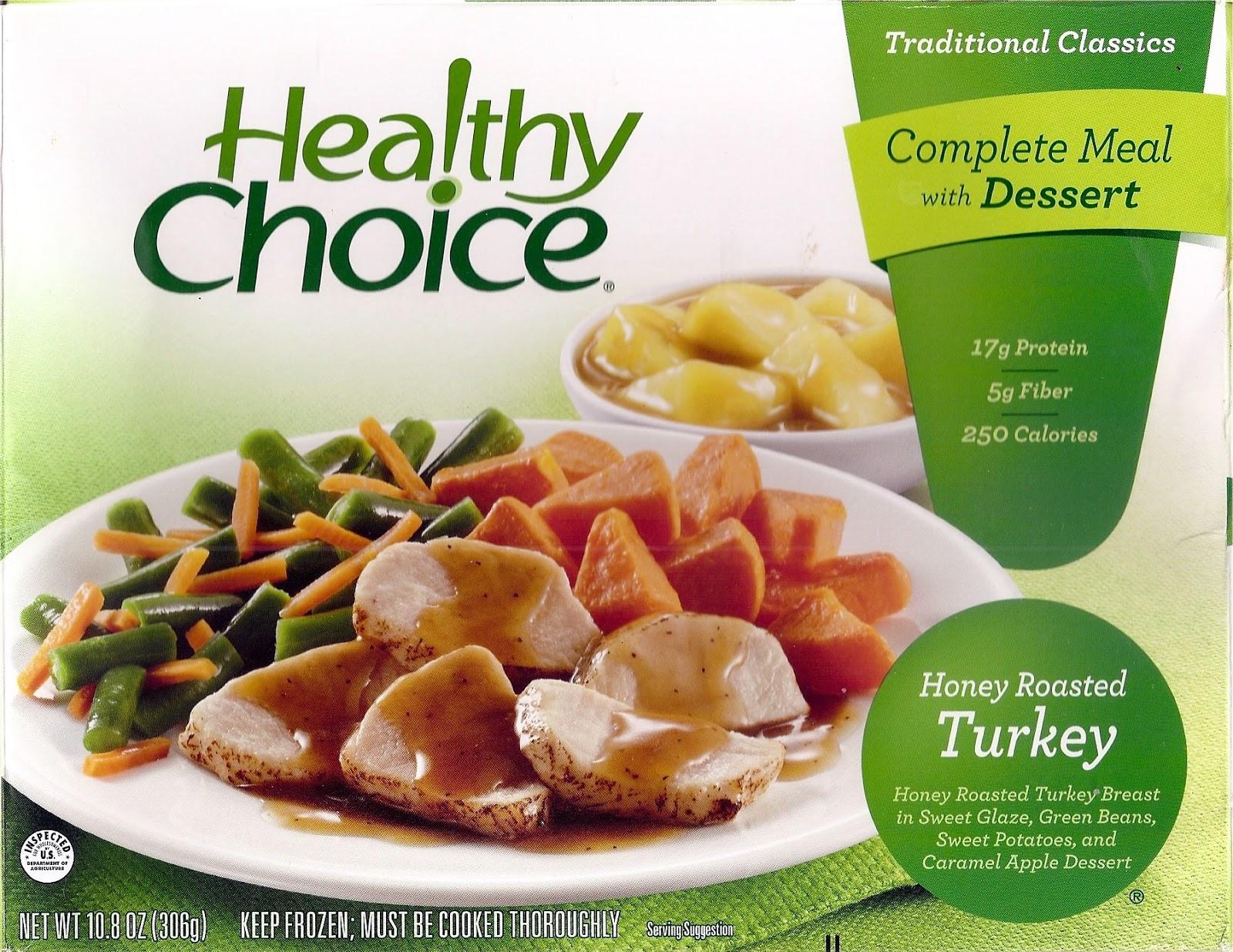 Healthy Choice Dinners  Forsythkid Critique Healthy Choice Honey Roasted Turkey