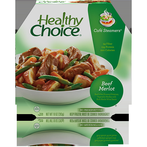 Healthy Choice Dinners  The Truth About Frozen Foods