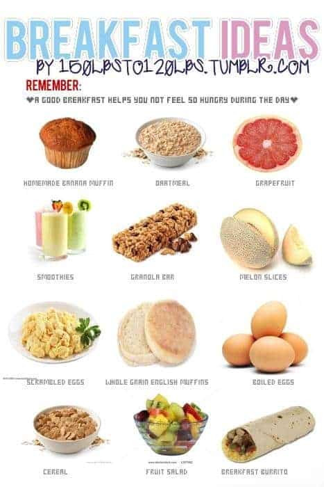 Healthy Foods For Breakfast  8 Easy Steps to Improve Your Nutrition and Boost Your Health