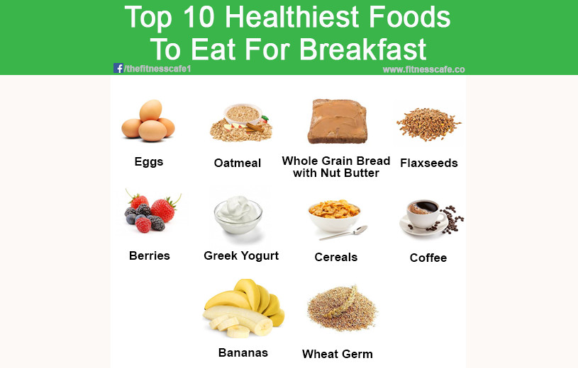 Healthy Foods For Breakfast  Top 10 Healthiest Foods To Eat For Breakfast The Fitness