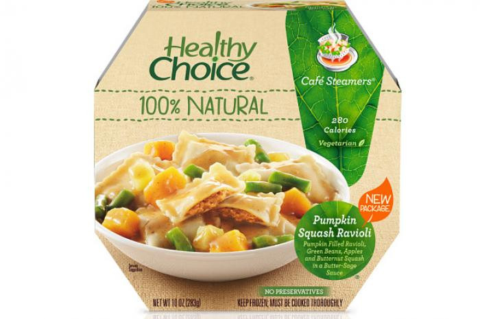 Healthy Frozen Dinners  13 Healthy Choice Café Steamers Pumpkin Squash Ravioli