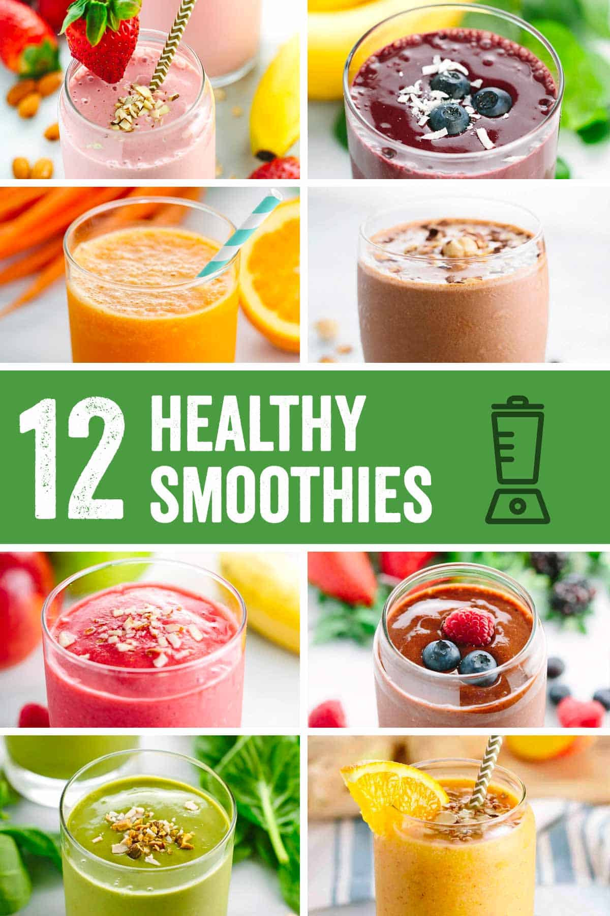 Healthy Fruit Smoothie Recipes  Roundup Easy Five Minute Healthy Smoothie Recipes