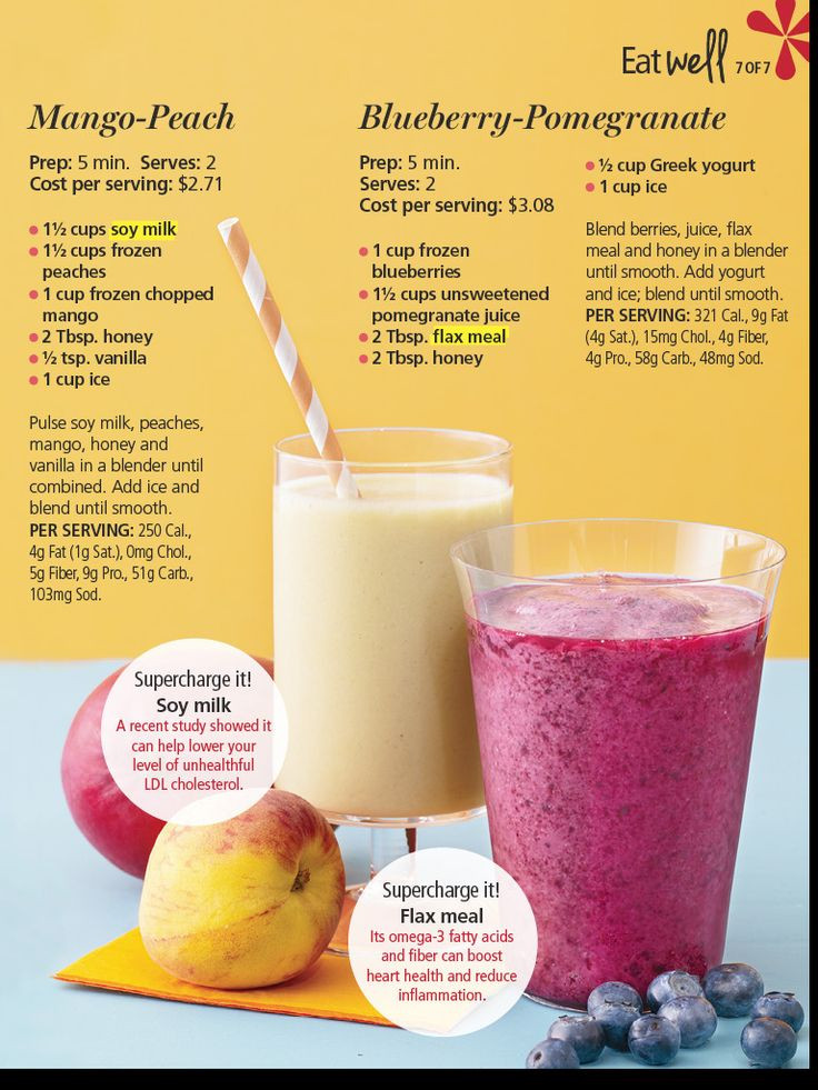 Healthy Fruit Smoothie Recipes  healthy smoothies with honey