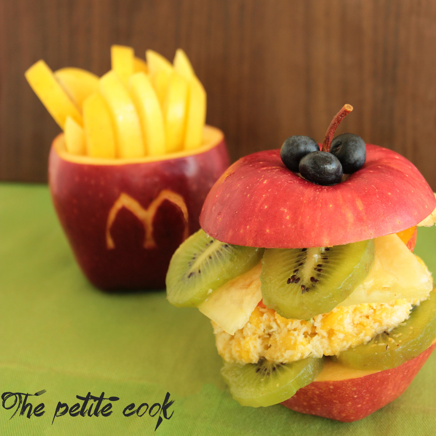 Healthy Fruit Snacks  Healthy Fruit Happy Meal The Petite Cook