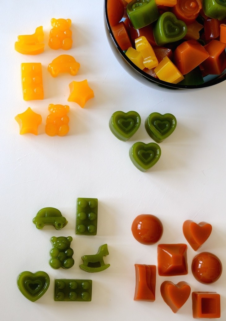 Healthy Fruit Snacks  Homemade Healthy Gummies